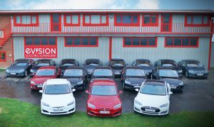 Company Vehicles - Electric fleet