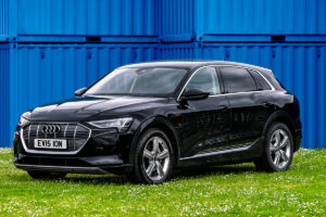 Audi Etron to hire in Black