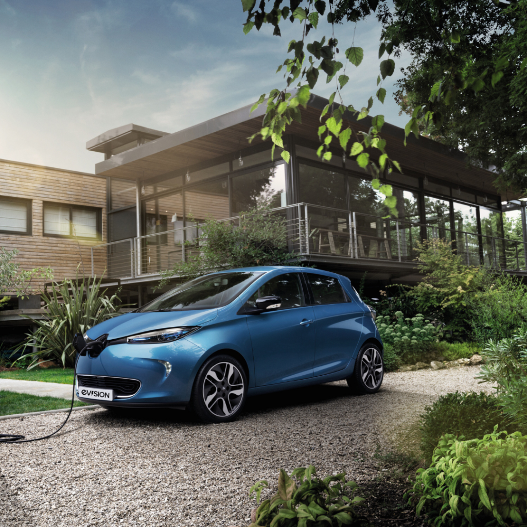 Renault ZOE at EVision